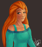 Sam  (Totally Spies) by BoWhatElse