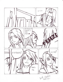 Warriors of War: Ghost Train Pg 2 by AceArcalas