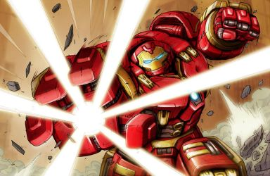 Hulkbuster! by MarceloMatere