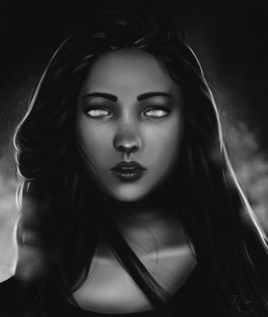 Blinded (Portrait) by Lyraven