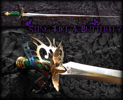 Sting Like a Butterfly by Fableblades