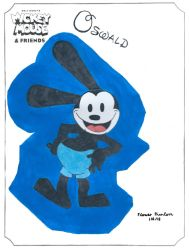 Oswald the Lucky Rabbit by FlowerPhantom