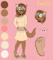 Emilie OC Sheet by BuddytheSketcher