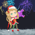 Jinxed fireworks (gif) by mich-spich