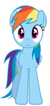 Rainbow Dash Is Looking At You by PaulySentry