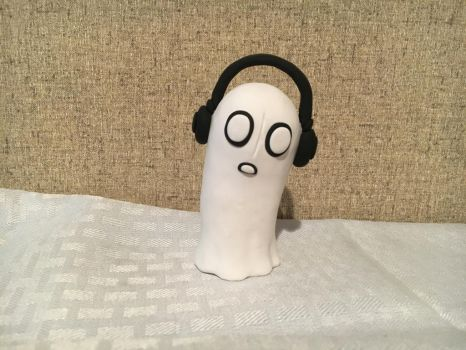 Napstablook by PomChiPrincess