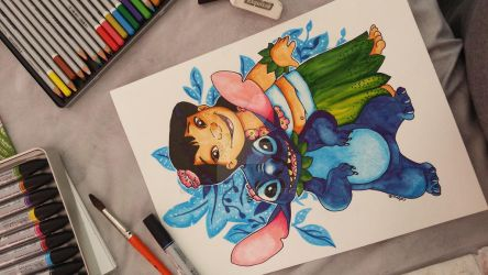 Lilo  Sitch from Disney. by Catsouille