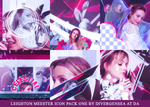 Leighton Meester Icon Pack 1 by divergensea
