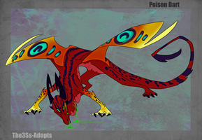 Poison Dart Dragon OTA (CLOSED) by The3Ss-Adopts