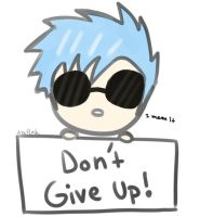Dont Give Up by AznFlesh