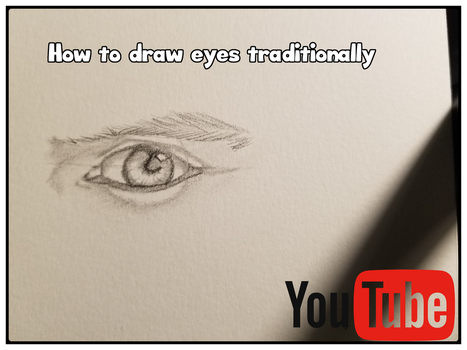 How to draw eyes traditionally by NekoB00