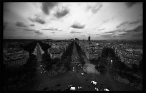 Streets of Paris I by OnkelGonzo
