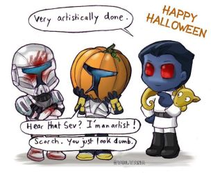 Happy Halloween SW by Evolvana