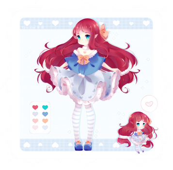 [Adopt Raffle] Elven Dolly [Closed] by Ririna-chan