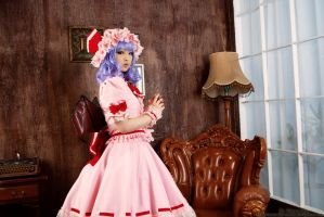 Touhou Project - Remilia Scarlet by Ku-MoRaN