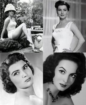 4 Great Mexican actresses by AntonioAlexisHuerta