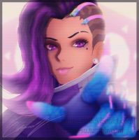 Sombra - Overwatch by Eremas-su