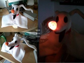 zero plush nightmare before christmas by boiraplushies on deviantart