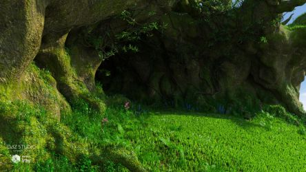 Green Cave (img01) by Andrey79