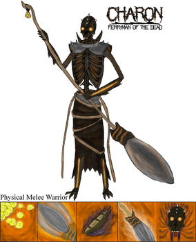Smite Datamined God - Charon by DaveSpectre122