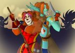 Let's fight the Zanchuli! by Horned-Lyzz
