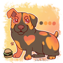 Cheeseburger Puppy - FOR SALE by Snowluff