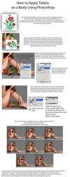 Apply Tattoo with Photoshop - TUTORIAL by PSHoudini