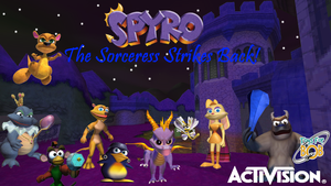 Spyro The Sorceress Strikes Back (Game Idea) by TwistedDarkJustin