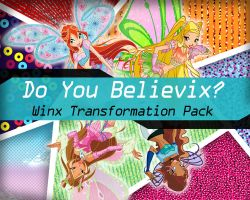 Do You Believix? - Winx Transformation Pack by TheDamnedFairy