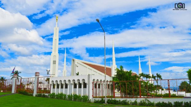 Latter Day Saint's Manila Temple by RAFeraer