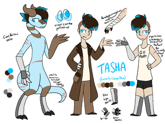 Tasha ref by Snifferdragon