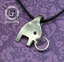 Elephant Fork Pendant by Doctor-Gus