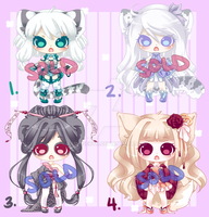 Cutie Adopts: Kemonomimi: CLOSED by RaineSeryn
