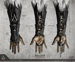 Assassin's Creed 5: Rising Sun - Hidden Blade by TheEnderling