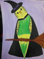 witch budgie by TaitGallery