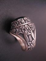 Day of the dead signate ring by flintlockprivateer