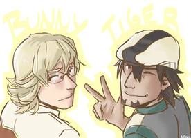 tiger and bunny by Nevheera