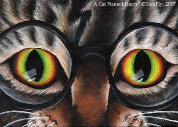 A Cat Named Harry by TaraFlyArt
