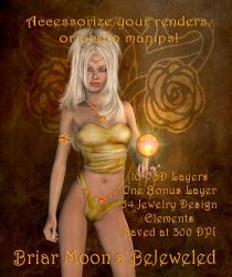 BM's  Bejeweled PSD Layers by briarmoon-stock