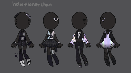 [outfit set] - cvrryspice [4/4] by hello-planet-chan