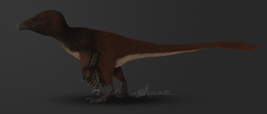 Dakotaraptor steini by TheWoodParable