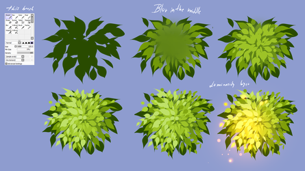 How i made leaves - EASY by ryky