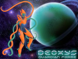 Deoxys Guardian Forme by StellarWind