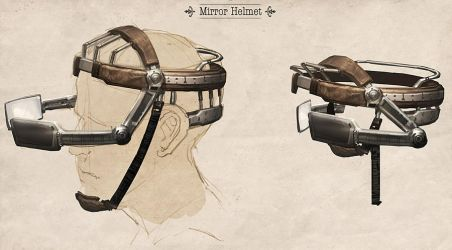 Mirror helmet by Justinoaksford