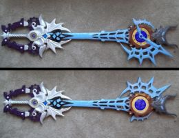 young xehanort keyblade by finaformsora