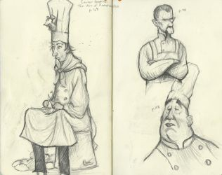 Sketching From Carter Goodrich by TheDyson