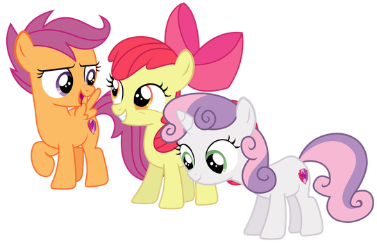 Vector - Silly Rich Ponies... by SketchMCreations