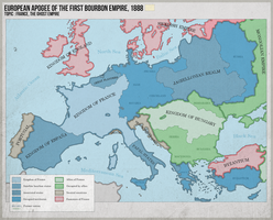 European Apogee of the First Bourbon Empire 1888 by ImDeadPanda