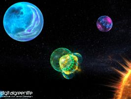 space... the fractal frontier by digitalgreenlifeart
