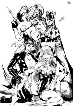 Gotham Girls by PsychedelicHeroin